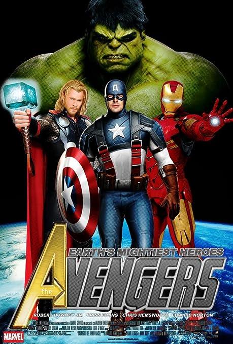 The Avengers (24x35 inch, 60x89 cm) Silk Poster Seda Cartel ...