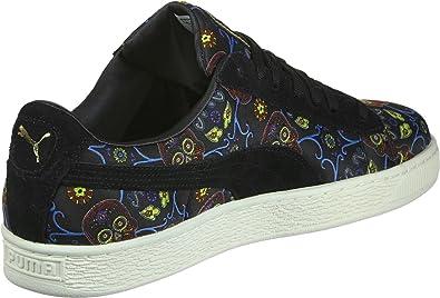 Puma Basket Classic DOTD FM Schuhe schwarz blau rot im Shop