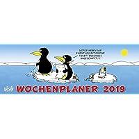Uli Stein Wochenplaner 2019: Tischkalender