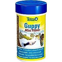 Tetra Guppy Mini Flakes, evenwichtige, voedingsrijke vlokkenvoering voor guppies, verschillende soorten
