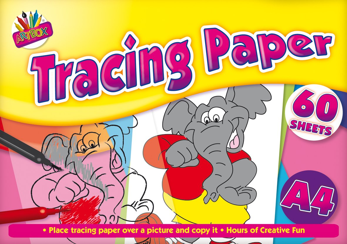 Artbox A4 tracing paper - 60 sheets Tallon International Ltd 5069