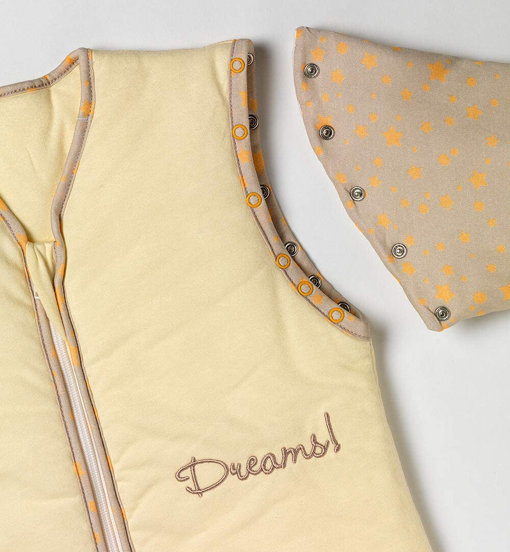dise/ño de mariposas Saco de dormir para beb/é con mangas desmontables Slummersack 2,5 tog 110 cm // 12-36 meses variante para todo el a/ño