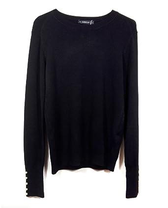 Zara Women Sweater with Pearly Cuffs 5646/130 (Small)