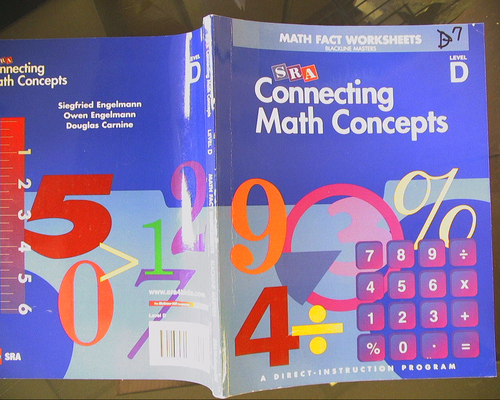 Counting Number worksheets math picture worksheets : Connecting Math Concepts: Math Fact Worksheets Blackline Masters ...