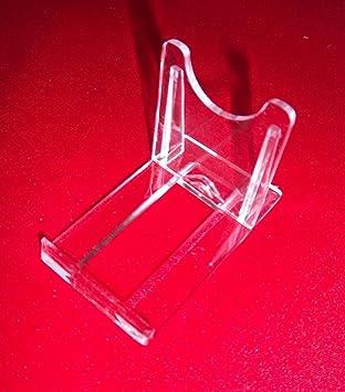 vom Sachsen Versand Möbel & Wohnaccessoires 5 kleine 40 x 70 x 50 mm Tellerständer Tellerhalter für Teller-Ständer-Halter-Aufsteller für Sammelteller-Handy-CD-Bluray