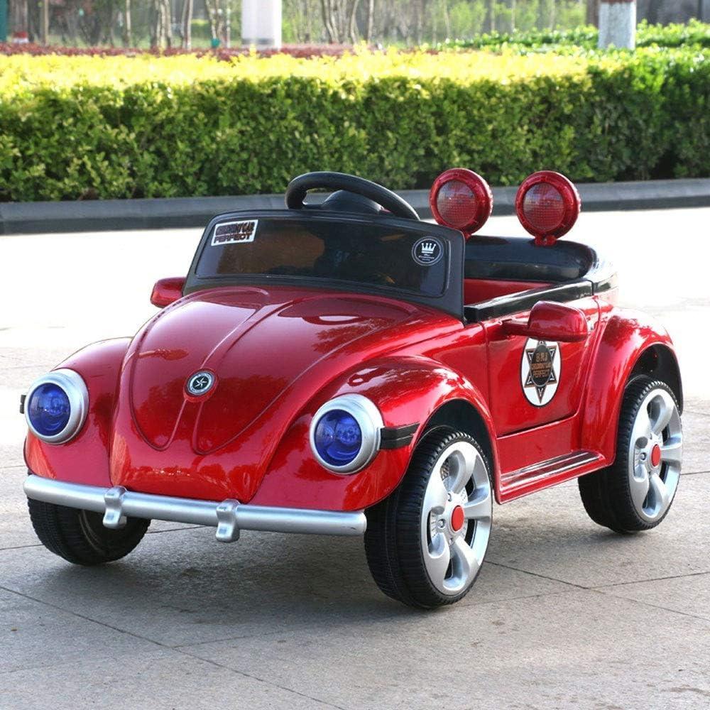 De los nuevos niños del bebé del coche eléctrico en las cuatro ruedas del coche del control remoto juguete puede sentarse Personas 1-3 años del niño de carga niña paseo del coche en los vehículos Niño