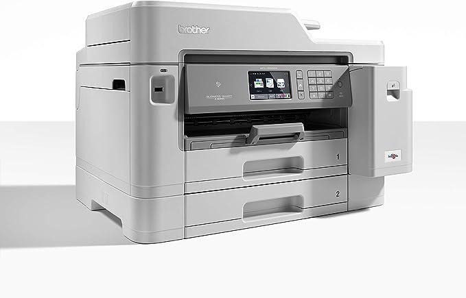Brother MFC-J5945DW - Impresora multifunción de Tinta A4 (WiFi, fax, escáner, copiadora, dúplex automático) Color Gris: Brother: Amazon.es: Informática