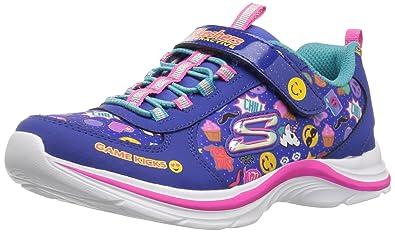 f2bdb9659 Skechers Kids Girls  Swift Kicks-Emoti Match Sneaker