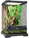 Exo Terra Glass Natural Terrarium Kit, for Reptiles and Amphibians, Nano Tall, 8 x 8 x 12 inches, PT2601A1