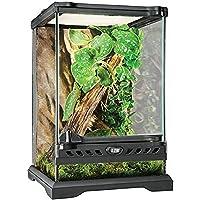 Exo Terra Glass Natural Terrarium Nano/Tall - 8 x 8 x 12 Inches