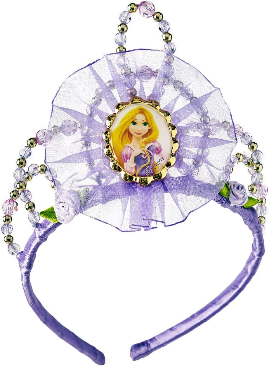Princesas Disney - Tiara de Rapunzel, diadema para niña, accesorio ...