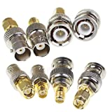 SMA to BNC Kits 2 Set RF Coaxial Adapter Male