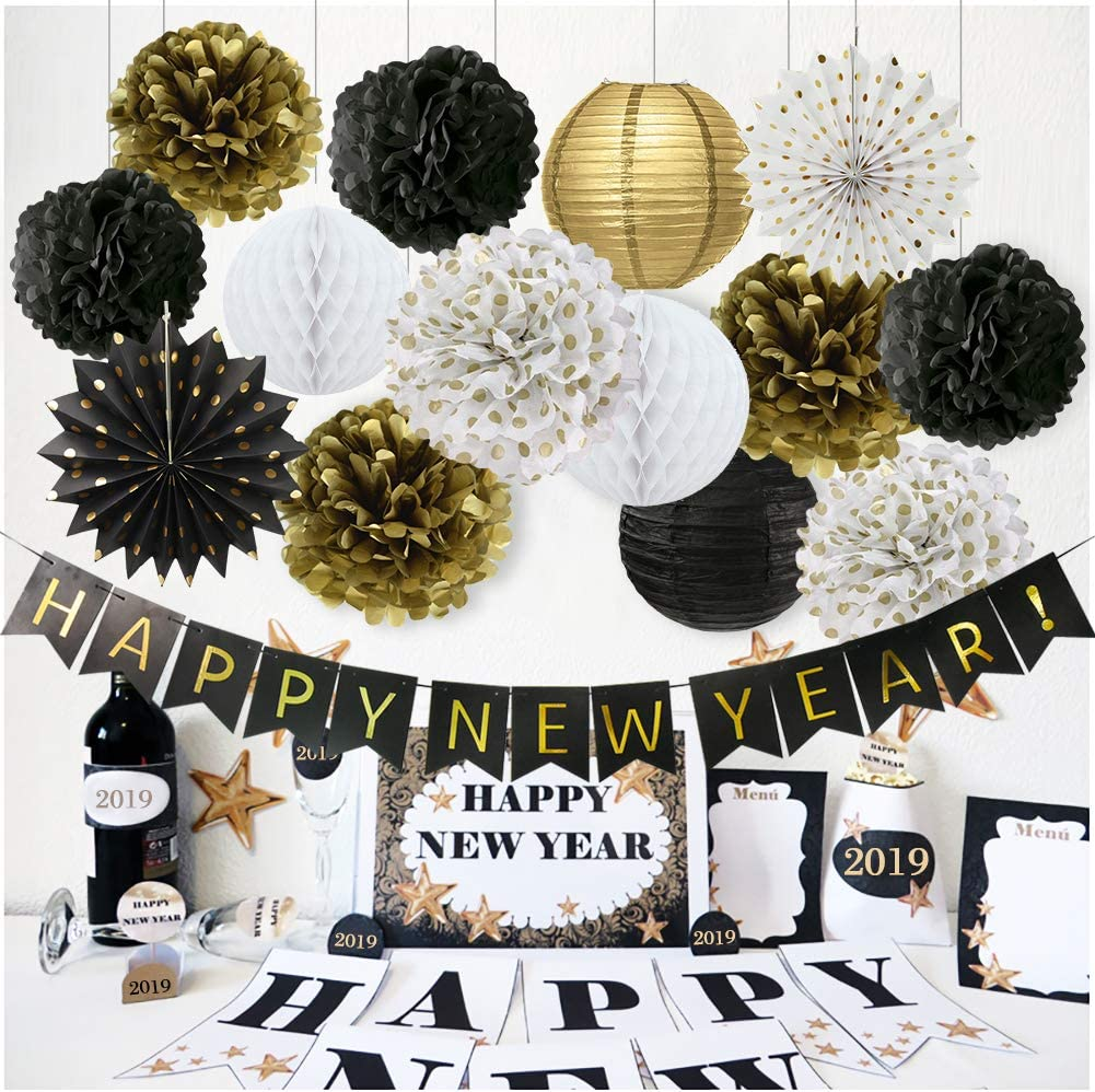 Gold /& Silver Prom 2019 Banner Kit 2pc Free Ship