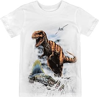 product image for Shirts That Go Little Boys' Tyranosaurus Rex & Dimetrodon Dinosaur T-Shirt