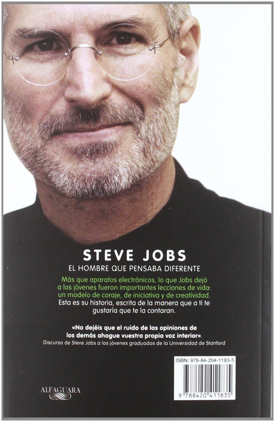 steve jobs un libro inspirador para los jÓvenes que no están