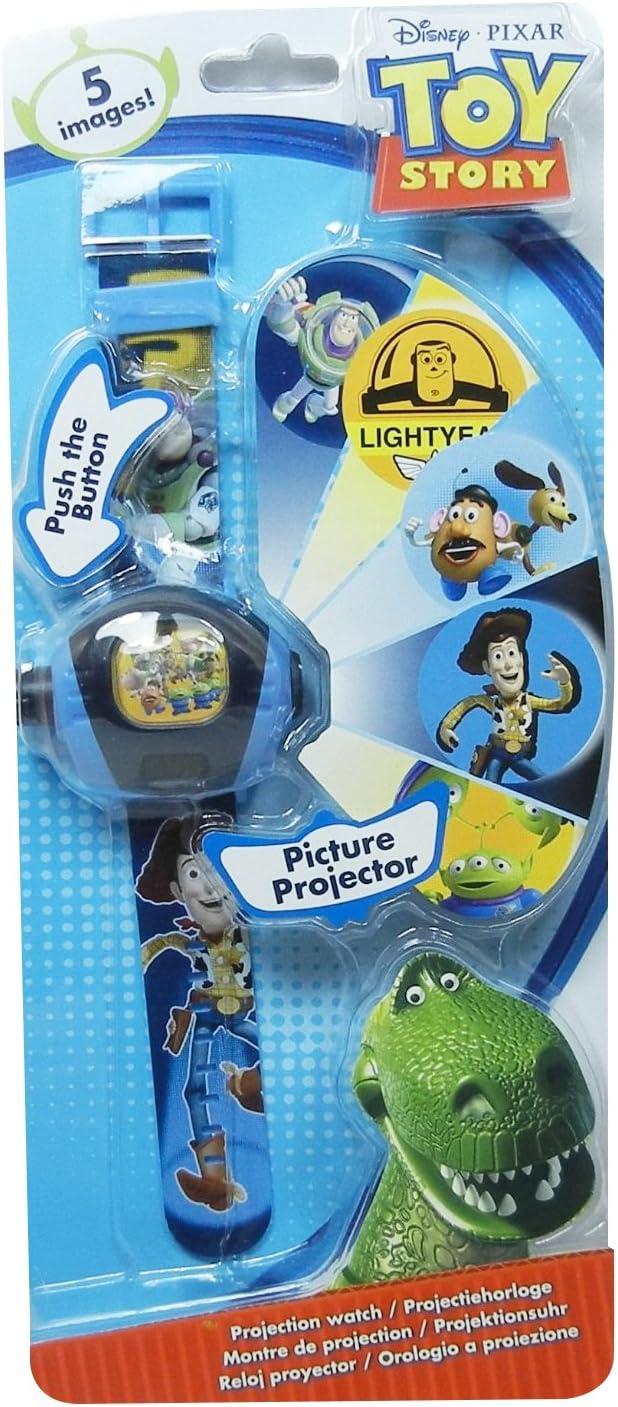 Disney - Reloj proyector para niños, diseño de Toy Story: Amazon ...