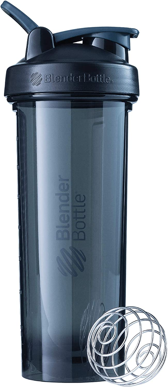 BlenderBottle Pro Series Shaker Bottle, 32-Ounce, Black
