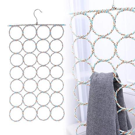 Amazon.com: WINOMO - 2 soportes para colgar bufandas ...