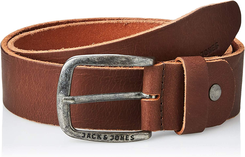 Jack & Jones Jjipaul Jjleather Belt Noos Cinturón para Hombre