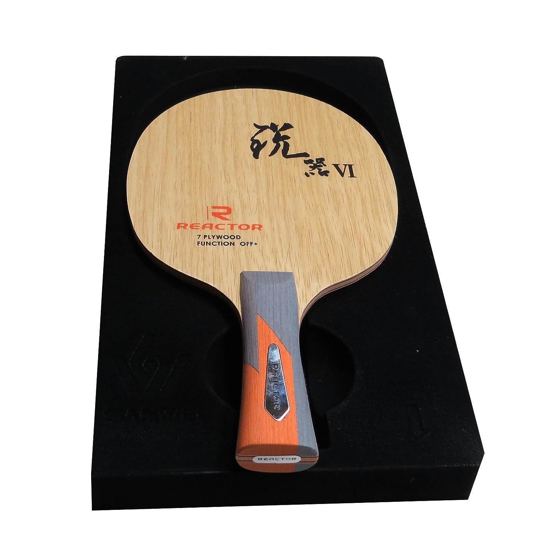 Reactor sw-vi Table Tennisブレード、FLハンドル   B01ECDN0MU