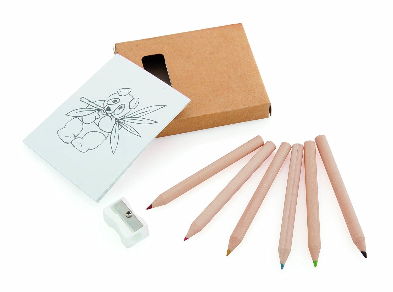 COOLMP Lot de 250 - Set Crayons de Couleur Taille Crayon Figgy MT