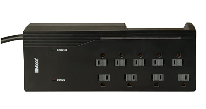 Review Woods 041650 9-Outlet Surge