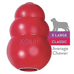 Brinquedo Kong Classic Cães Vermelho Extra Grande Kong para Cães