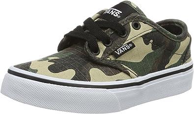 Vans Yt Atwood, Sneakers Basses garçon, Vert (Textile), 30.5 EU ...