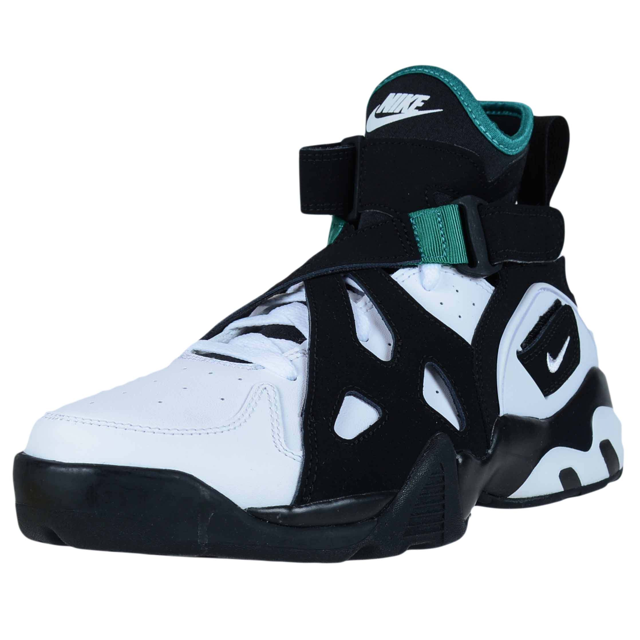 purchase cheap df9f4 bf606 Galleon - NIKE AIR Unlimited Black White Emerald Green David Robinson  889013 001