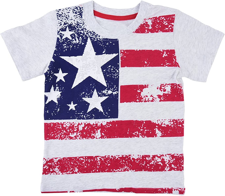 Italian Stars Flag Kids Boys Girls Crewneck Long Sleeve Shirt T-Shirt for Toddlers