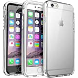 SUPCASE Ares Full-body Rugged Clear Bumper Case with Built-in Screen Protector for Apple iPhone 6s Plus,iPhone 6 Plus 5.5 Inch