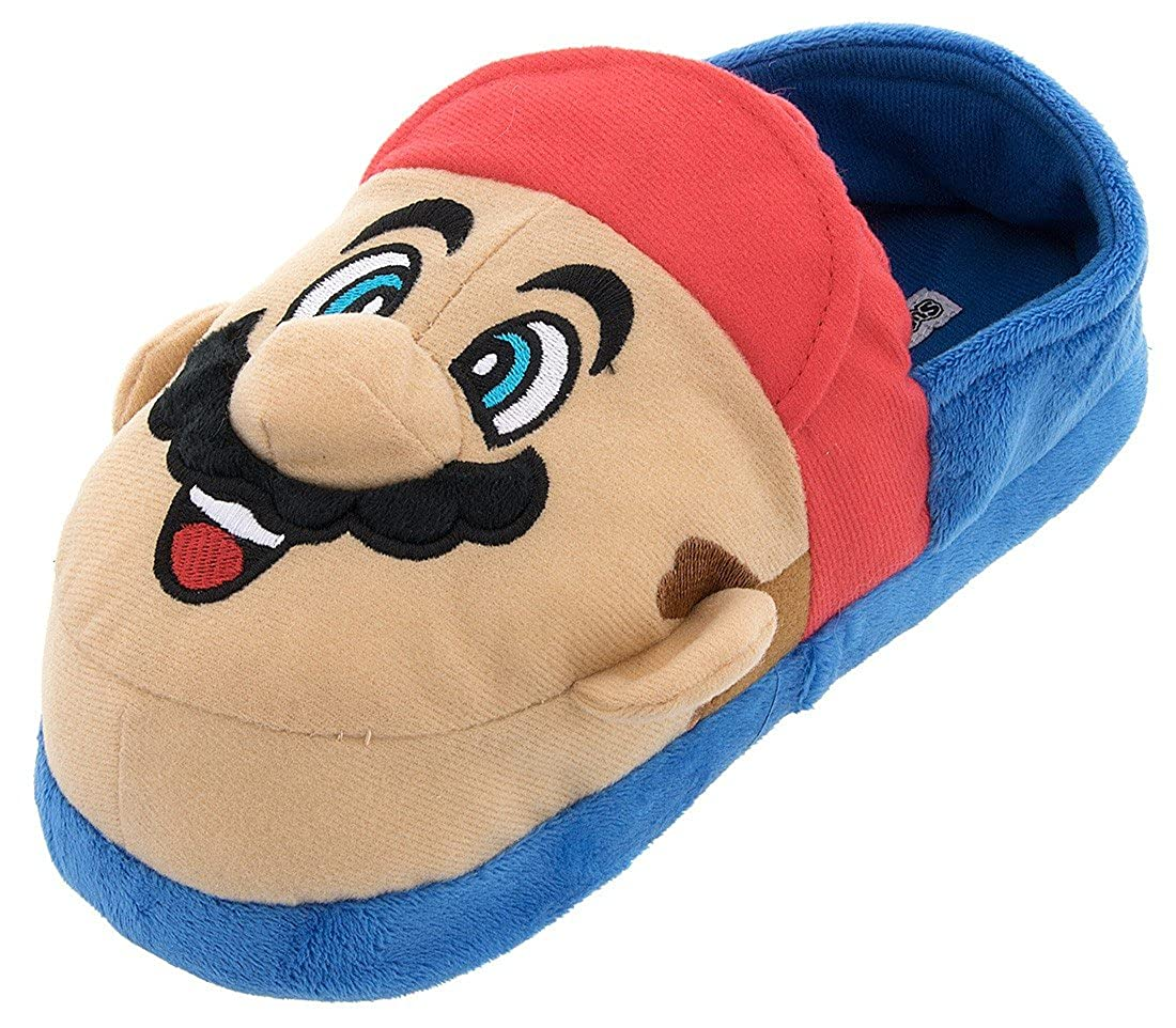 Super Mario and Luigi Kids Slippers