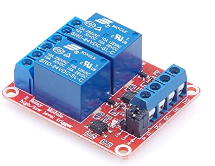 De 1/canal rel/é Relay M/ódulo 12/V Azul para Arduino Raspberry Pi PIC AVR ARM MCU