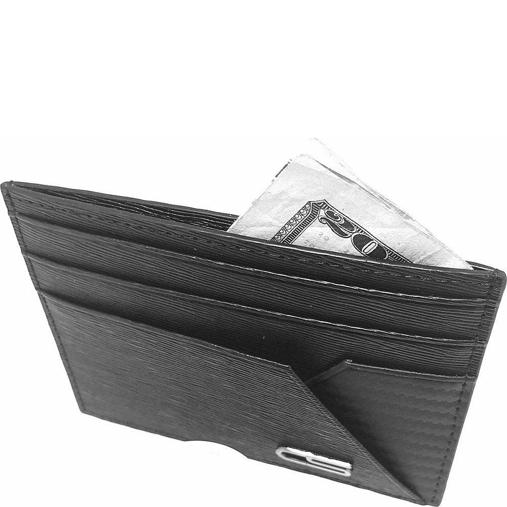 Black Carbon Sesto Sleeve Wallet