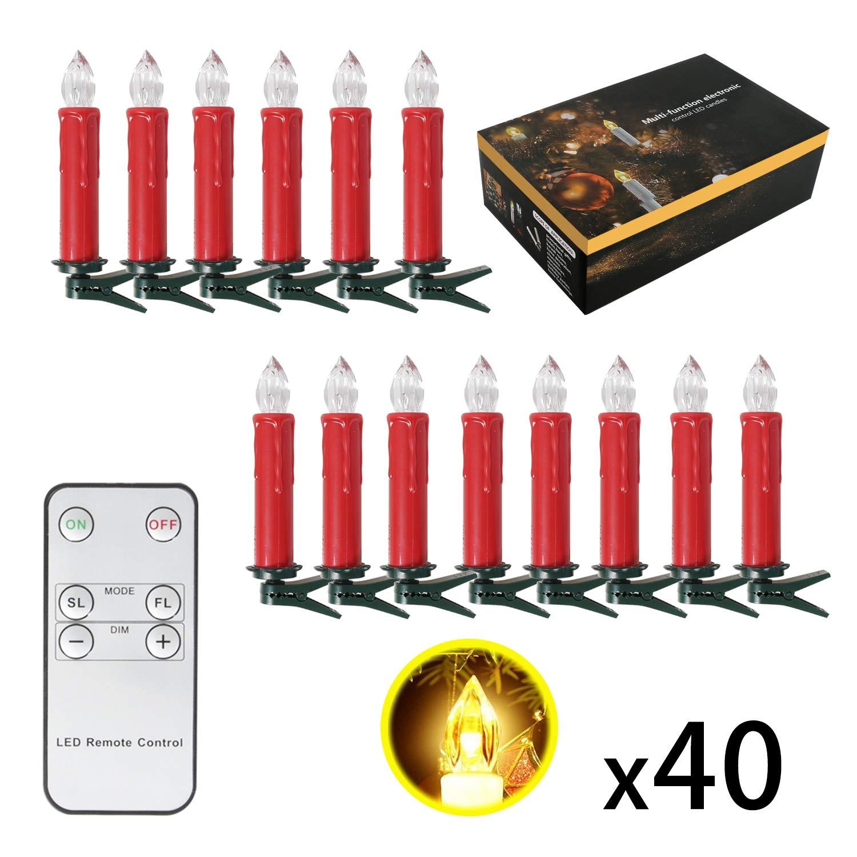 Led Kerzen Weihnachtsbeleuchtung.Sunjas 10 20 30 40 Er Weinachten Led Kerzen Weihnachtsbeleuchtung