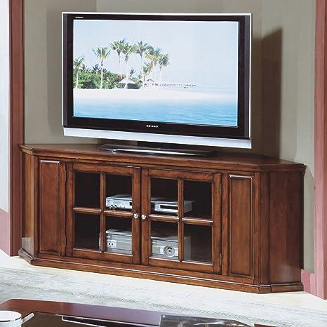 Amazon Com Monarch Specialties Oak Solid Wood And Veneer 62 Inch