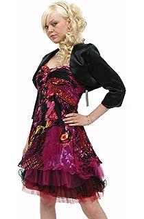 fa47db4b66fec Young-Fashion La belle robe de cocktail en chiffon (1339): Amazon.fr ...