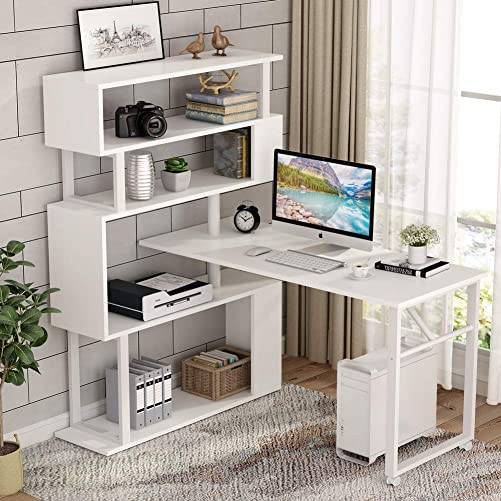 Tribesigns Rotating Computer Desk