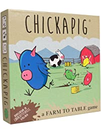Buffalo Games Chickapig Board Game - A Strategic Board Game Where Chicken-Pig Hybrids Attempt to Reach Their Goal While...