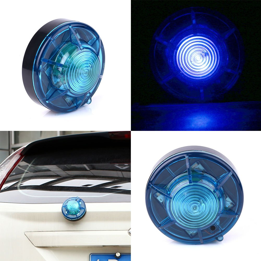 Sedeta® blu stroboscopiche a LED spie lampeggianti Automotive sicurezza luce trafffic Flash emergenza per camion auto lampada decorativa ambra