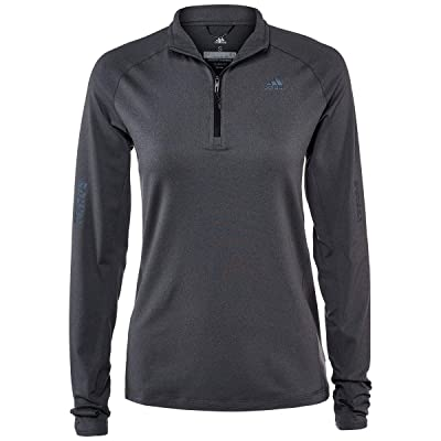 adidas Womens Running Supernova 1/2 Zip: Clothing