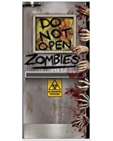 Beistle Zombies Lab Door Cover, 30 by 5-Inch, Multicolor
