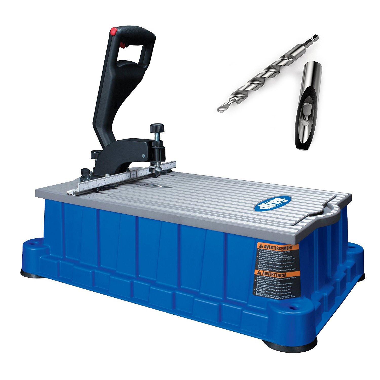 Kreg DB210 Foreman 110V Pocket-Hole Machine, Storage Tray, DB210-HDBB HD Bit