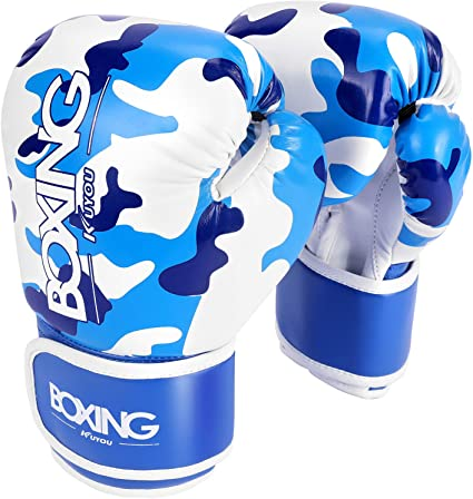 Boxing Gloves for Kids Children Training Pun ching Bag Kickboxing Mitts Mitts