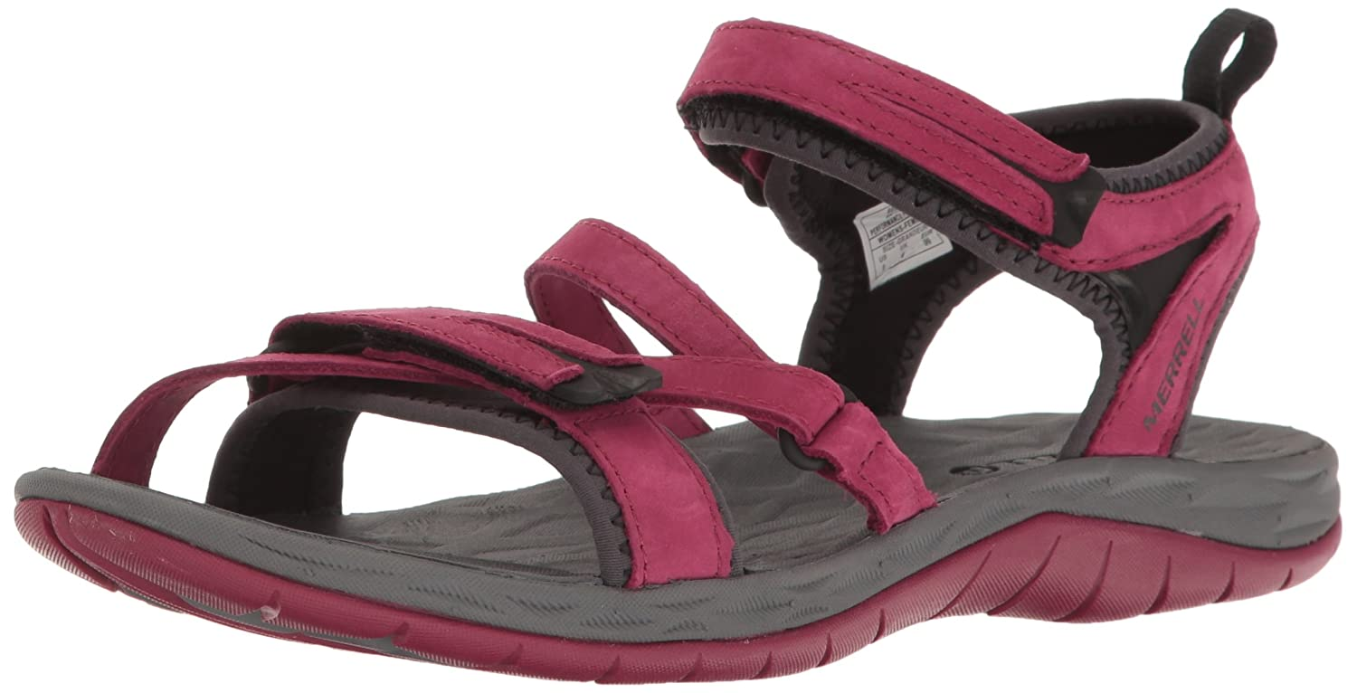 Merrell Women's Siren Strap Q2 Athletic Sandal B01HGW4O9W 6 B(M) US|Beet Red