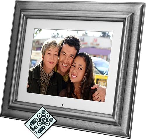 Pandigital 72-8XAV 8-Inch Digital Picture Frame Gray