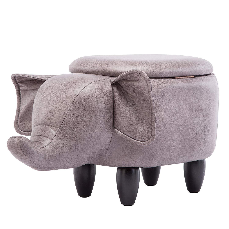 Llyu Solid Wood Elephant Storage Stool Footstool Children S Creative Cute Toy Locker Buy Online In Bahamas At Desertcart Com Productid 105996189
