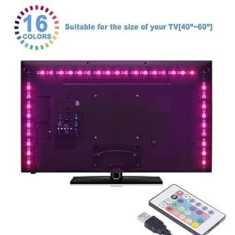 LED-TV-Hintergrundbeleuchtung led-Stripes, Sunnest led Stripes 2m ...