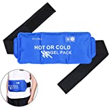 Body Hot Cold Gel Pack MARNUR Reusable Heat Pad Flexible Cold Wrap for Back Knee Waist Shoulder Ankle Alleviate Joint Injury Pain Relief and Relaxation Hot Cold Therapy