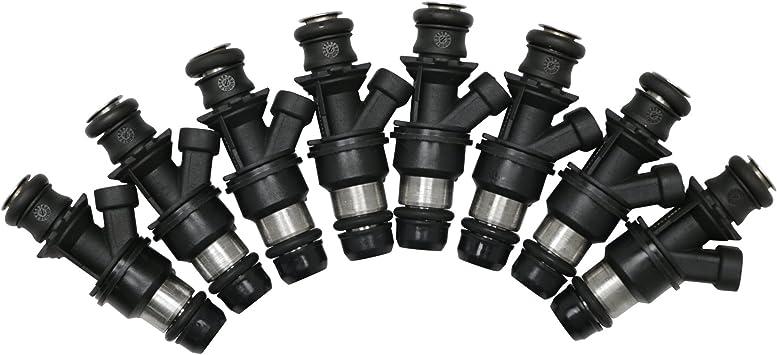 Fuel Injectors For CADILLAC CHEVROLET GMC 4.8L 5.3L 6.0L FJ315 SET OF 8 28lb